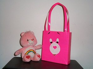 Rainbow Care Bear Lunch Tote bag