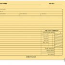 278 Job Cost Summary Folder QTY.50