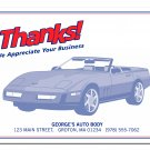 "6516 ""Thanks"" Floor Mat QTY. 250"