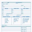 RS-242: Road Service Form, Carbonless 2pt QTY. 250