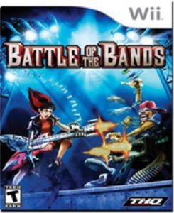 WII-GAMES-BATTLE OF THE BANDS