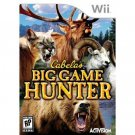WII-GAMES-BIG GAME HUNTER