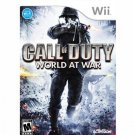 WII-GAMES-CALL OF DUTY (WORLD AT WAR)