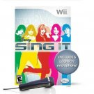 WII-GAMES-DISNEY SING IT