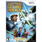 WII-GAMES-STAR WARS (LIGHTSABER DUELS)