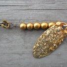 TINY ORIGINAL BRASS SWINGMAN SPINNER-gold