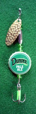 Novelty Fishing Lure - Dundee Pale Ale Cap Spinner