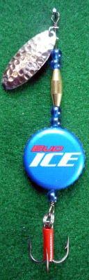 Novelty Fishing Lure - Budweiser Ice Beer Cap Spinner