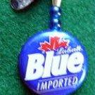 Novelty Fishing Lure - Labatt Blue Beer Cap Spinner