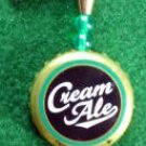 Novelty Fishing Lure - Genesee Cream Ale Cap Spinner