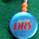 Novelty Fishing Lure - Molson Dry Beer Bottle Cap Spinner