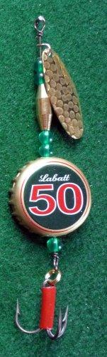 Novelty Fishing Lure - Labatt 50 Beer Cap Spinner