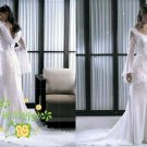 New sexy Prom/Ball/Evening white WeddingDress Custom Size  voile&satin W002-18