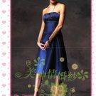 New sexy strapless Prom/Ball/Evening WeddingDress Custom Size  voile&satin W002-104