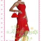 New sexy strapl Prom/Ball/Evening WeddingDress Custom Size  voile&satin W002-116