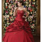 Ball Gown Strapless Floor Length Satin wedding dress for brides 2010 style(WDE0152)