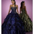 Ball Gown Sweetheart Floor Length Taffeta wedding dress for brides 2010 style(BST0166)