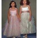 A-Line Round-neck Tea-length Tulle Flower girls Dress new Style(FGD0040)
