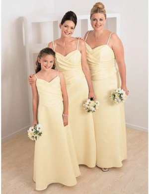 A-Line Spaghetti Straps Tea-length Chiffon Mother of the Bride Dresses new style(MBD00117)