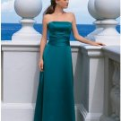 A-Line Strapless Floor Length Satin Mother of the Bride Dresses new style(MBD00114)