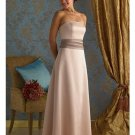 A-Line Strapless Floor Length Satin Mother of the Bride Dresses new style(MWYN097)