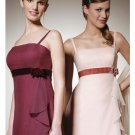 A-Line/Princess Spagetti Straps Floor-length Chiffon Bridesmaid Dress for brides new Style(BD0304)