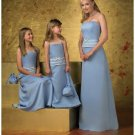 A-Line/Princess Strapless Floor-Length Satin Bridesmaid dress for brides new Style(BD0251)
