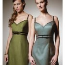 A-Line/Princess Spagetti Straps Floor-length Satin Bridesmaid Dress for brides new Style(BD0305)
