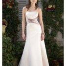 A-Line/Princess Strapless Floor Length Satin Bridesmaid Dresses for brides new style(BDS0012)