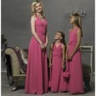 A-Line/Princess Halter Top Floor Length Chiffon Bridesmaid Dresses for brides new style(BD0283)