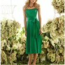 A-Line/Princess Strapless Knee-length Satin Bridesmaid dress for brides new Style(BMD0037)