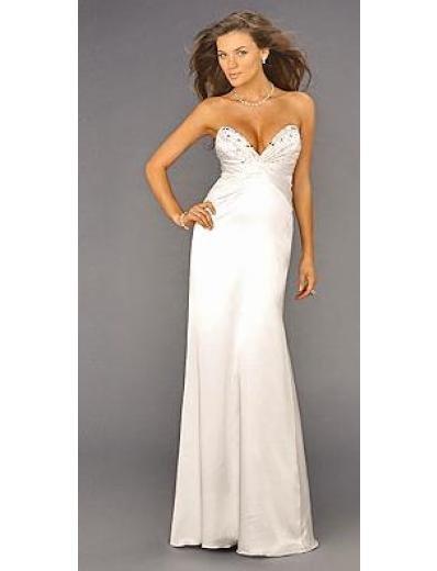 Column/Sheath V-neck Brush train Satin Bridesmaid Dresses for brides new style(BMD0139)