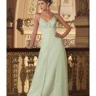 A-Line/Princess Halter Top Floor-Length Satin Bridesmaid dress for brides new Style(BMD0008)