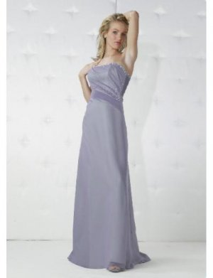 A-Line/Princess Strapless Floor Length Satin Bridesmaid Dresses for brides new Style(BD0154)