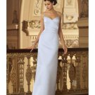 Column/Sheath Sweetheart Floor-length train Satin Bridesmaid Dresses for brides new style(BD0006)