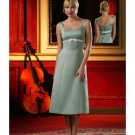 A-Line/Princess Scoop Knee-Length Satin Bridesmaid dress for brides new Style(BD0014)