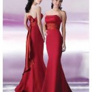 Mermaid Strapless Floor-length Satin Bridesmaid Dresses for brides new Style(BD0123)