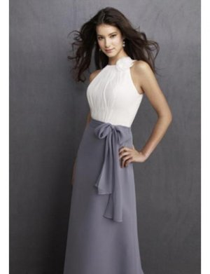 Column/Sheath Jewer Tea-length Chiffion Prom Dress(PDS0061) for Women's Clothing