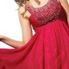 A-Line/Princess Square knee-length chiffon Christmas dress (27)