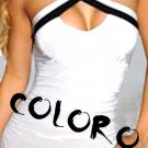 White Sexy Women's Clothing for Clubwear Tops Blouse Free Size