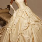 Euro Style Ball Gown Sweetheart Beading Taffeta Wedding Dress(y0918019)