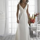 A-line/Princess Strapless Cathedral Satin wedding dress for brides 2010style(WDA35)