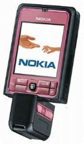 "Nokia 3250 ""Pink Twister"" Mobile Cellular Phone (Unlocked)"