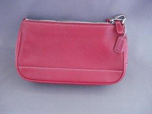 HAND BAGS (PURSE): Coach Women's Red hand bag (purse)