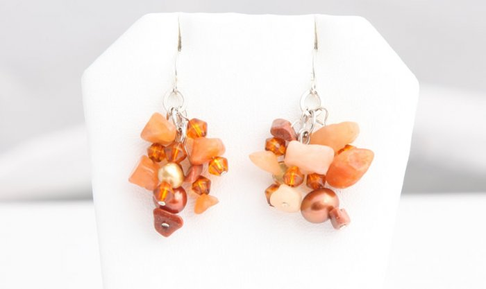 Auburn Pearl Earrings        ep3031