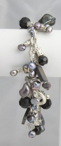 Black Pearl Roxanne Bracelet