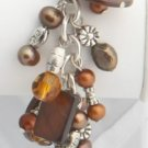 Brown Pearl Roxanne Bracelet
