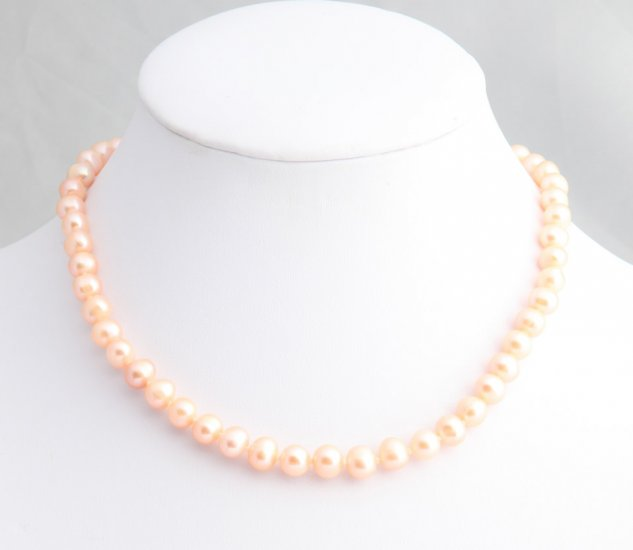 PeachPearl Necklace        ep1023