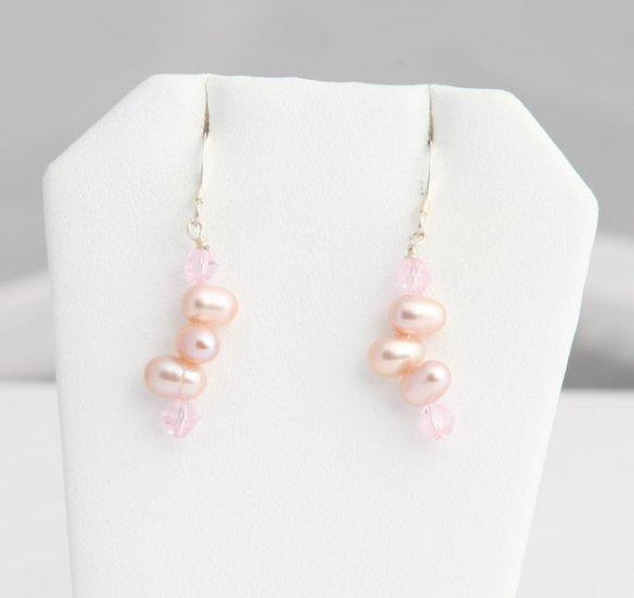 Tula Lavender Pearl Earrings