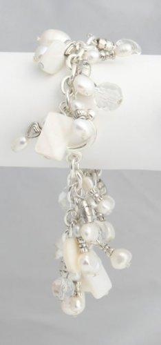 White Pearl Roxanne Bracelet